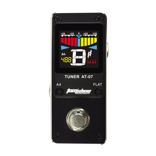 Toms Line AT-07 Mini Pedal Tuner