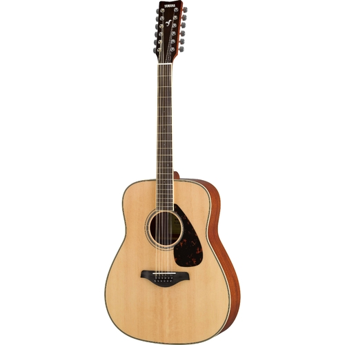 FG820 12-STRING NATURAL FINISH