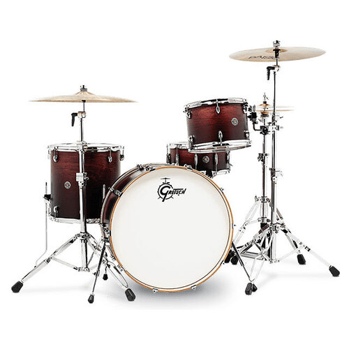 Gretsch Catalina Club Rock 4-Pce Drum Kit in Satin Antique Fade
