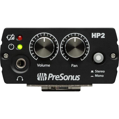 PreSonus HP2 Stereo Headphone Amp For Wired In Ear Montiros