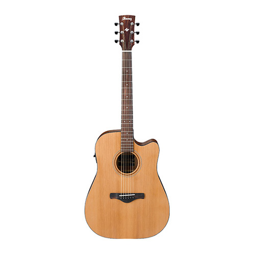 Ibanez AW65ECE LG Artwood Solid Acoustic Guitar