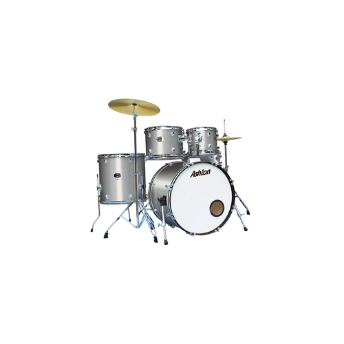 Ashton TDR520SV Drum Kit Silver