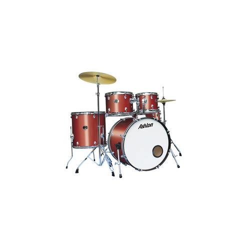 Ashton TDR520WR Drum Kit Wine Red