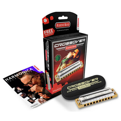 Hohner Marine Band Crossover Harmonica in the Key of C