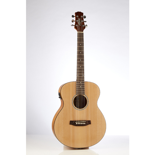 Ashton JJR20EQ NTM Junior Jumbo Acoustic Guitar with EQ