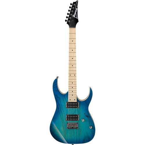 Ibanez RG421AHM BMT Electric Guitar in Blue Moon Burst Finish