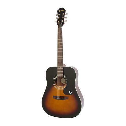 The Epiphone DR-100 Acoustic Guitar Vintage Sunburst
