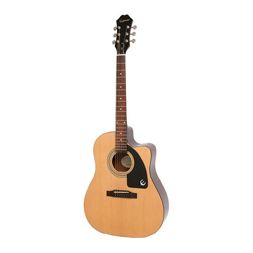 The Epiphone AJ-100CE Acoustic Natural