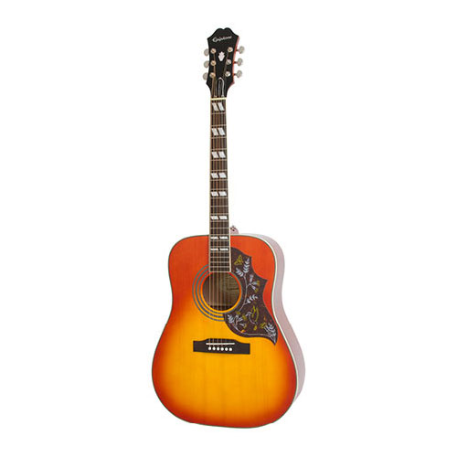 Epiphone Hummingbird Pro Acoustic/Electric Faded Cherryburst
