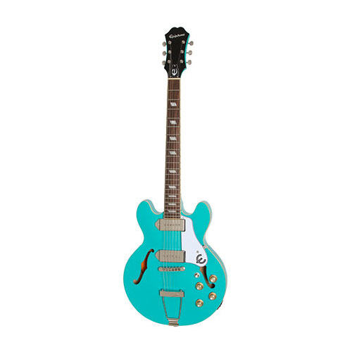 The Epiphone CASINO Coupe Turquoise