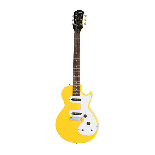 The Epiphone Les Paul SL Sunset Yellow
