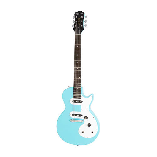 The Epiphone Les Paul SL Pacific Blue