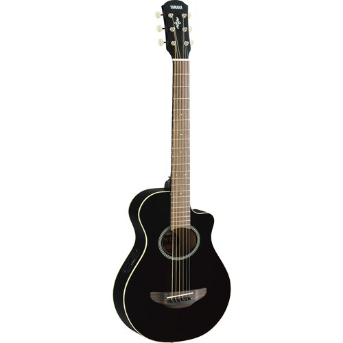 YAMAHA APXT2 BLACK ELECTRIC-ACOUSTIC GUITAR