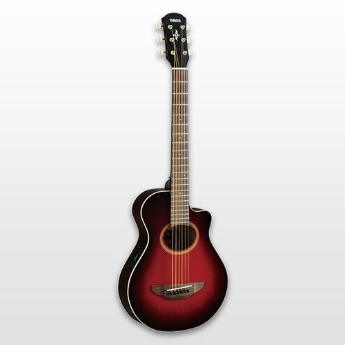 YAMAHA APXT2 DARK RED BURST ELECTRIC-ACOUSTIC GUITAR