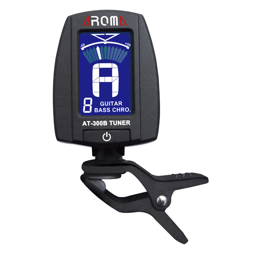 Aroma AT-300B  Chromatic Clip-on Tuner Guitar, Bass