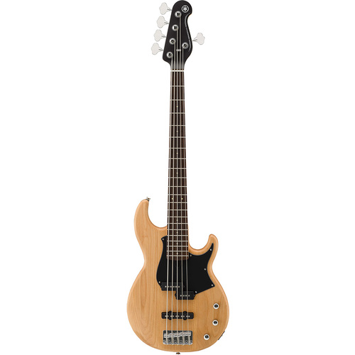 Yamaha BB235 Yellow Natural Satin 5-String Bass Guitar