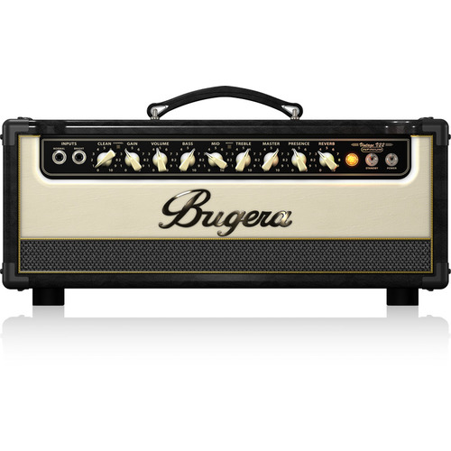 Bugera Vintage 2-Channel, 22W Tube Guitar Amplifier Head with Reverb