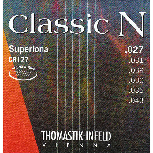 Thomastik CR127 Classic N Series Heavy Duty Nylon Set Round Wound