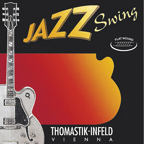 Thomastik Jazz Swing Series Flatwound Set 13/53