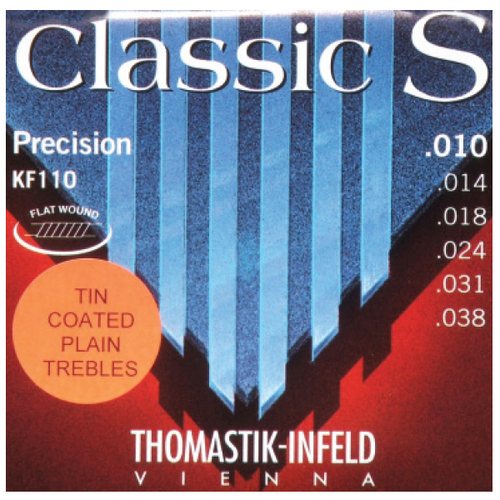 Thomastik KF110 Classic S Rope Core 10-38 String Set