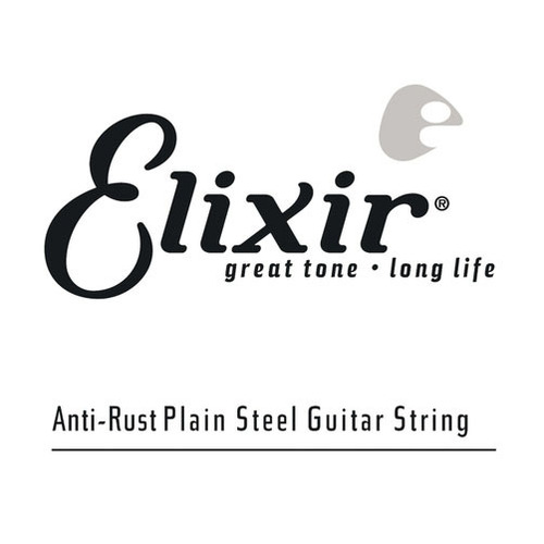 Elixir 13013 Anti-Rust Plain   Steel Single String