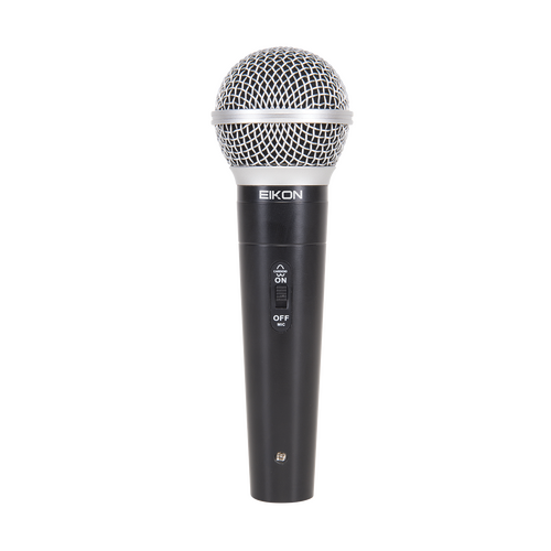 Eikon DM580LC Vocal Dynamic Microphone with Switch. Includes Cable & Clip
