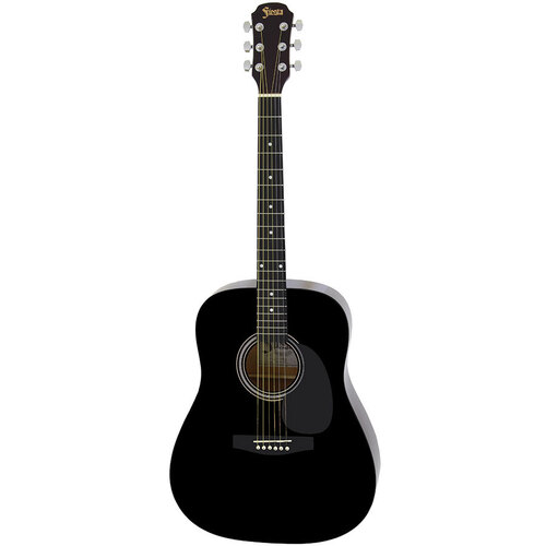 Aria Fiesta Series Dreadnought Acoustic Guitar in Black