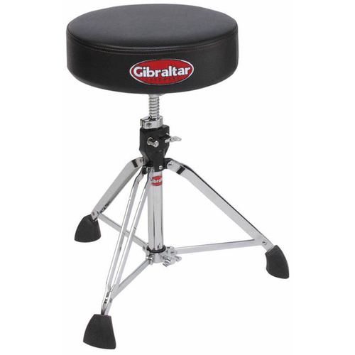 Gibraltar 9600 Series Double Braced Pro Round Drum Throne in Black