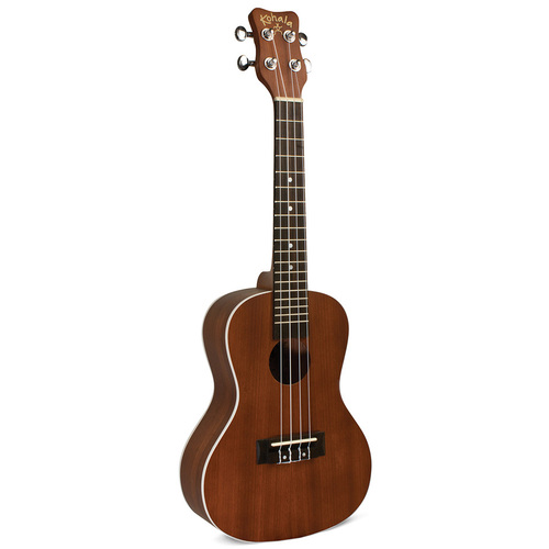 Kohala Akamai Series AC/EL Concert Ukulele in Natural Satin Finish