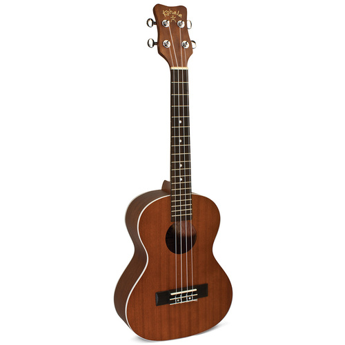 Kohala Akamai Series AC/EL Tenor Ukulele in Natural Satin Finish