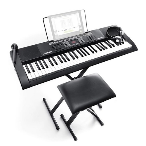 Alesis MELODY 61 MKII 61-Key Portable Keyboard with Built-In Speakers
