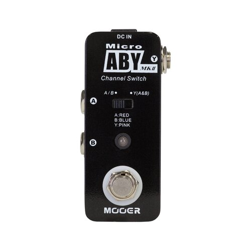 Mooer ABY Channel Switching Micro Guitar Effects Pedal