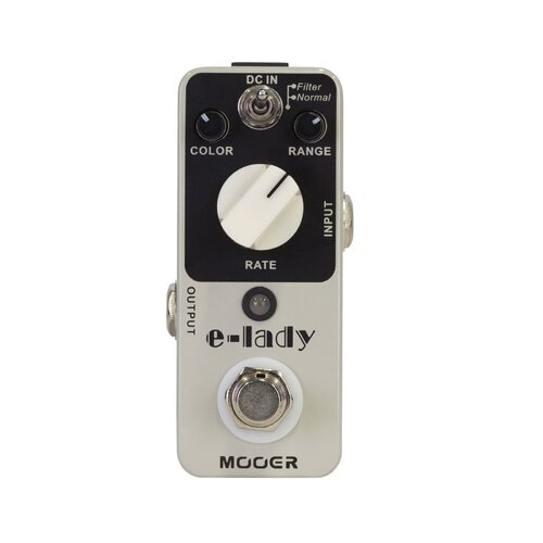 Mooer Electric Lady Analogue Flanger Micro Guitar Effects Pedal
