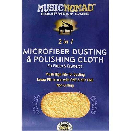 Music Nomad Piano/Keyboard Microfiber Dusting & Polishing Cloth