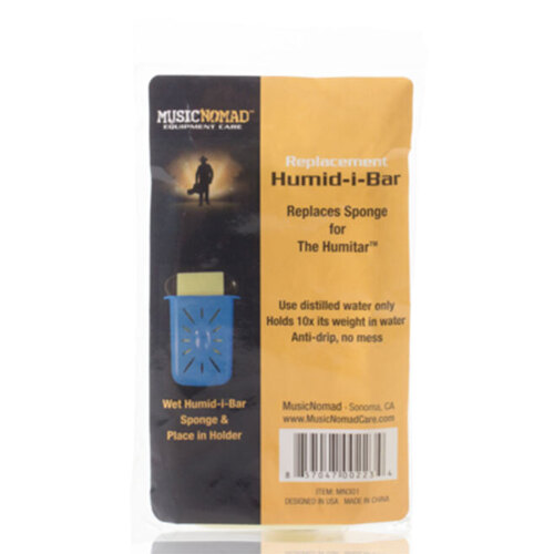 Music Nomad Replacement Humid-i-Bar Sponge for the Humitar Humidifier