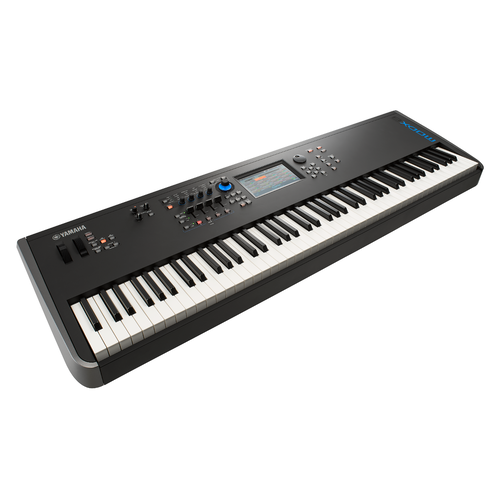 Yamaha MODX8 synthesizer with an 88-note