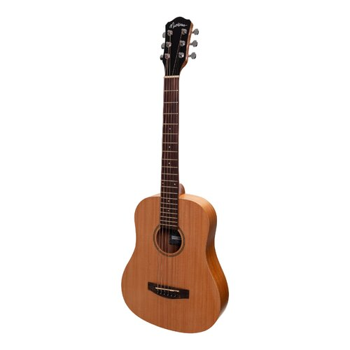 Martinez Acoustic Babe Traveller Guitar (Mahogany)