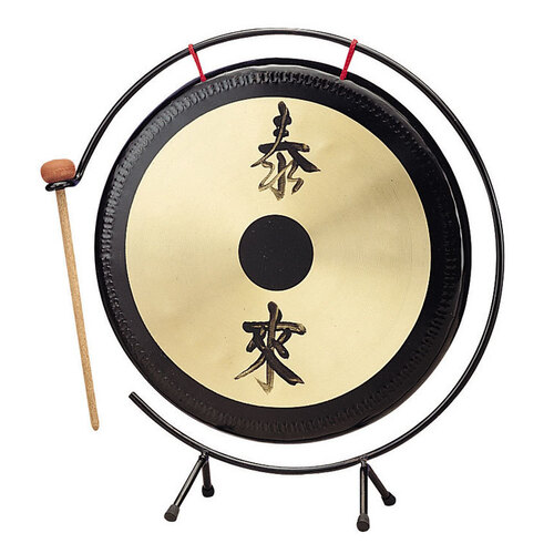 "Opus Percussion 12"" Gong with Stand & Mallet"