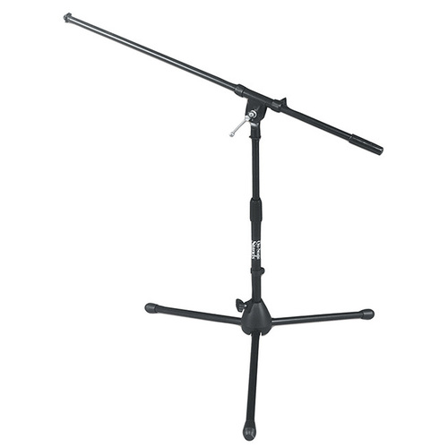 On Stage Low Profile Boom Mic Stand with Tripod Base