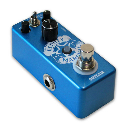 "Outlaw Effects ""Deputy Marshal"" Plexi Distortion Pedal"
