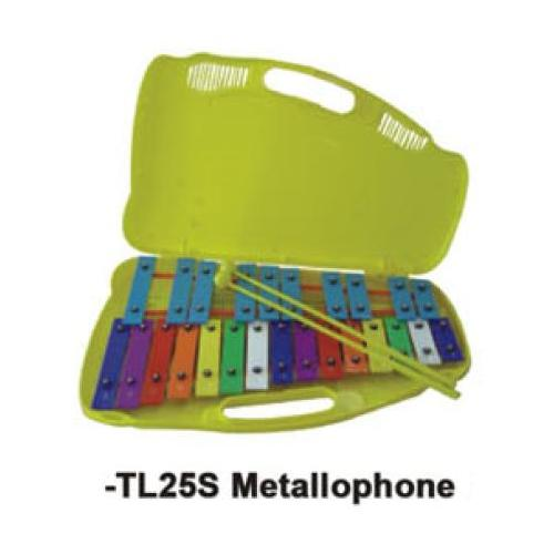 Percussion Plus 25 Note - Metallophone in Case