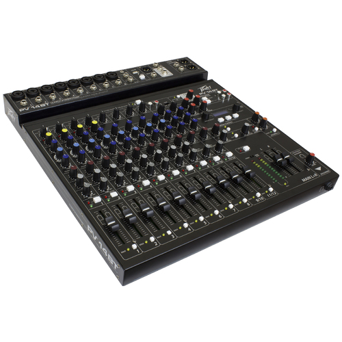 "Peavey PV Series ""PV-14BT"" Compact 14-Channel Mixer with Bluetooth"