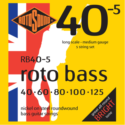 RotoSound RB405 Rotobass Medium 5 string 40 - 125