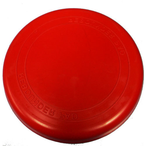 "Percussion Plus Rebounder 8"" Drum Practice Pad in Red"