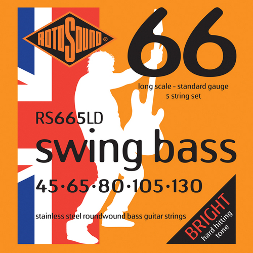 RotoSound RS665LD Swing Bass 66 Long Scale 45 -130 5-String