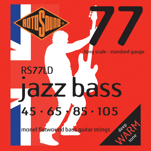 RotoSound RS77LD Jazz Bass 77 long Scale 45 - 105 Monel