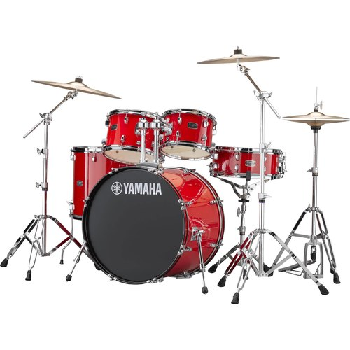 YAMAHA RYDEEN EURO DRUM KIT IN HOT RED