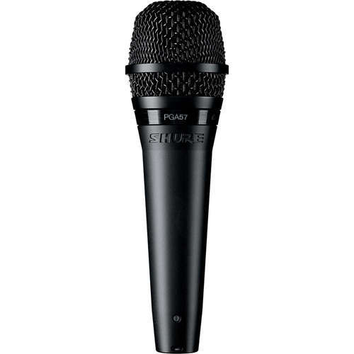 Shure PGA57 Cardioid Dynamic Instrument Microphone with XLR-XLR Cable