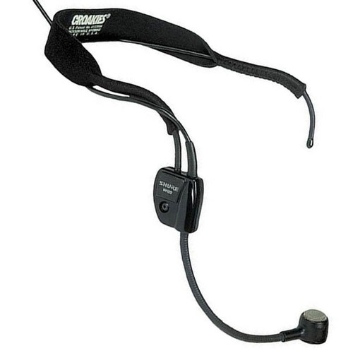 Shure WH20TQG Dynamic Headset Microphone with XLR Connector