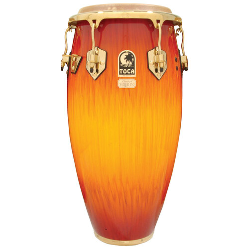 "Toca LE Series 11"" Wooden Quinto in Firestorm"